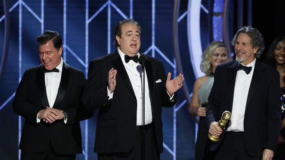 76th ANNUAL GOLDEN GLOBE AWARDS -Nick Vallelonga, winner of Best Screenplay - Publicity-H 2019