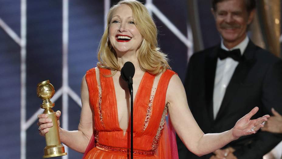 76th ANNUAL GOLDEN GLOBE AWARDS - Patricia Clarkson, winner of Best Supporting Actress -Publicity-H 2019