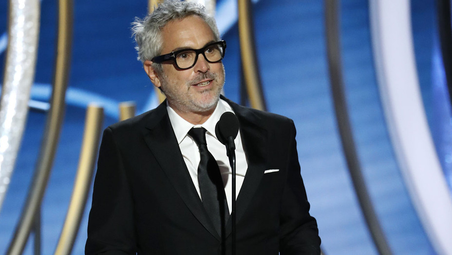 76th ANNUAL GOLDEN GLOBE AWARDS - Alfonso Cuaron, winner of Best Motion Picture, Foreign Language - Publicity-H 2019