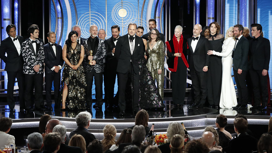 76th ANNUAL GOLDEN GLOBE AWARDS - Versace team -winner of Best Motion Picture Made for Television-H 2019