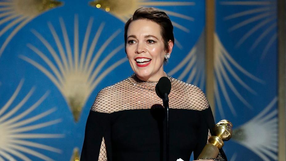 Olivia Colman-Golden Globes 2019-Publicity-H 2019