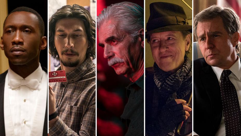Oscar Nominations-Best Supporting Actor-Publicity Stills-Split-H 2019