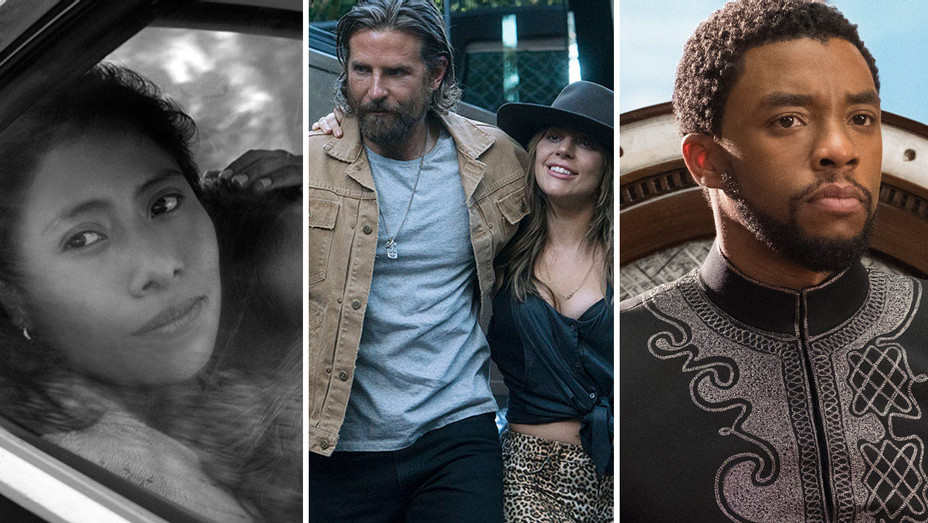 Roma, A Star Is Born and Black Panther - Split-H 2019