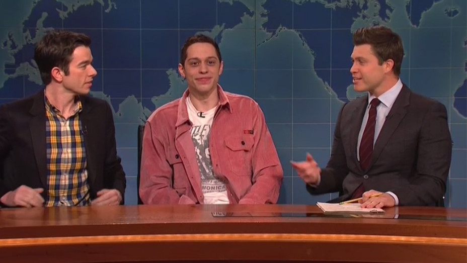Pete Davidson SNL Screenshot H 2019