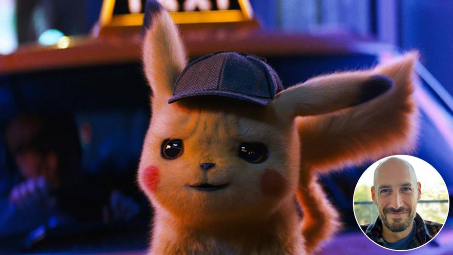 Pokemon and inset of Oren Uziel -H 2019