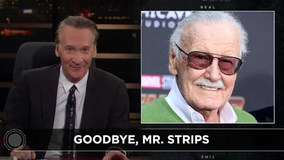 Real Time with Bill Maher_Stan Lee - Publicity - H 2019