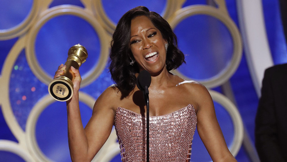 Regina King_onstage_GoldenGlobes - Getty - H 2019