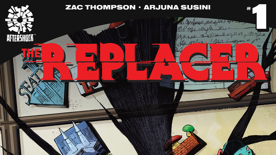 The Replacer - Arjuna Susini AfterShock Comics - Publicity-P 2019
