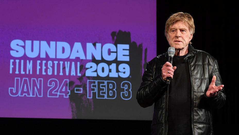 Robert Redford_Sundance - Getty - H 2019