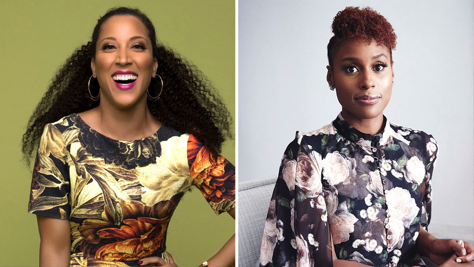 Robin Thede - Issa Rae-Publicity-Split-H 2019