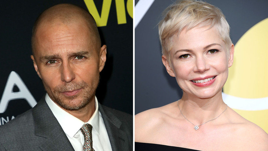 Sam Rockwell and Michelle Williams -Split- Getty-H 2018