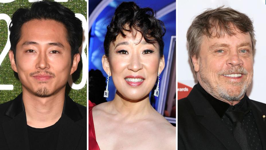 Steven Yeun, Sandra Oh, Mark Hamill-Split-Getty-H 2019