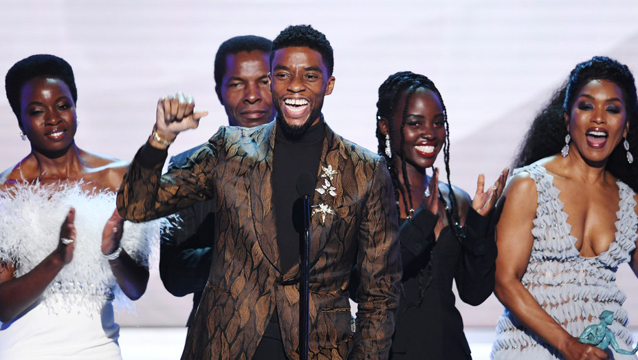 The Cast of Black Panther-SAG Awards 2019-Getty-H 2019