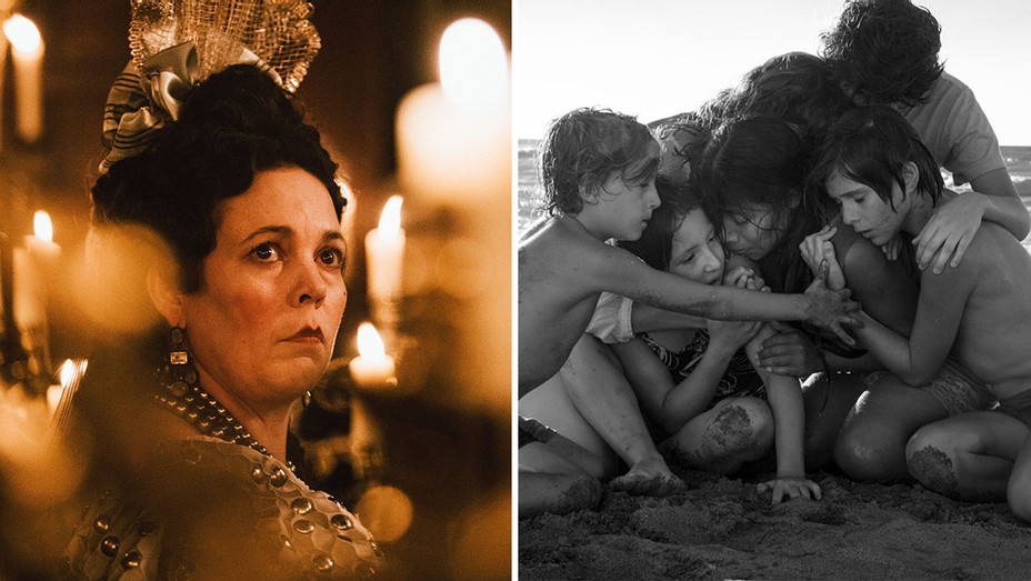 The Favourite and Roma -Split-H 2019