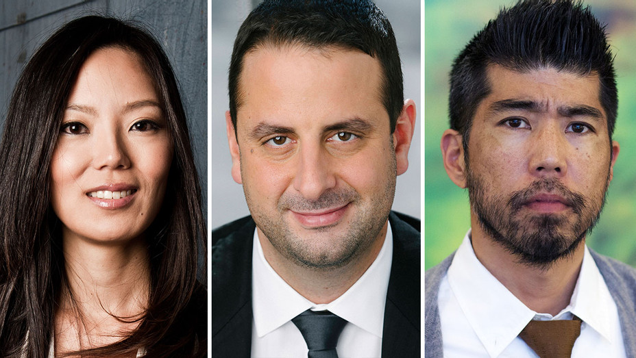 Theresa Kang-Lowe, Amir Shahkhalili and Kevin Iwashina_Split - Publicity - H 2019