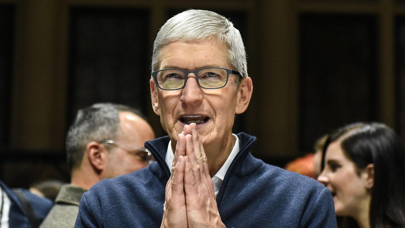 Apple CEO Tim Cook's 2020 Compensation Rises to $14.8 Million