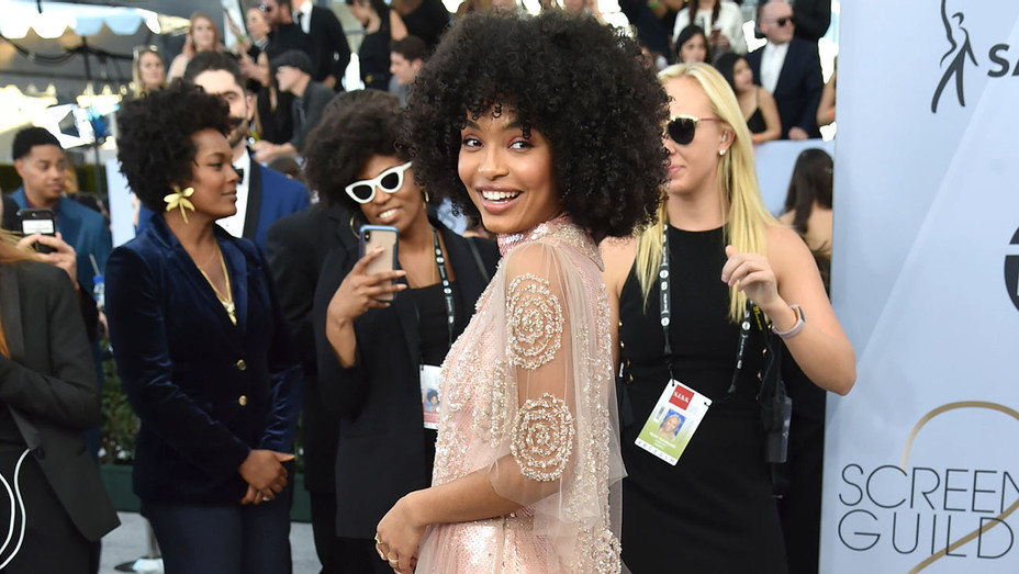 Yara Shahidi attends the 25th Annual Screen Actors Guild Awards - Getty - H 2019