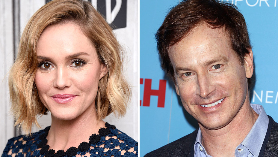 Erinn Hayes and Rob Huebel-Split-Getty-H 2019
