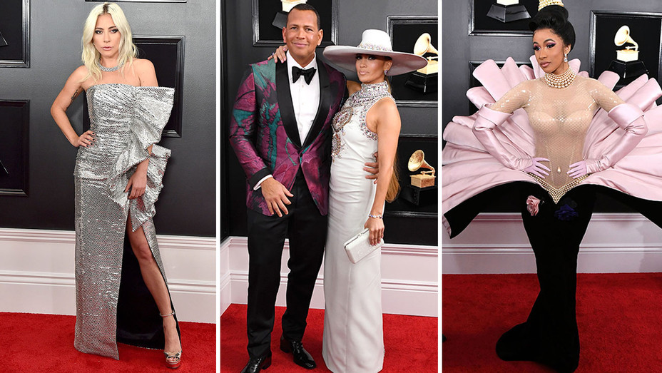 grammys 12 looks that rocked the red carpet hollywood reporter 12 looks that rocked the red carpet