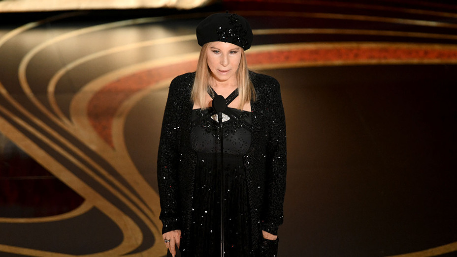Barbra Streisand  speaks onstage during the 91st Annual Academy Awards-Oscars 2019-Getty-H 2019