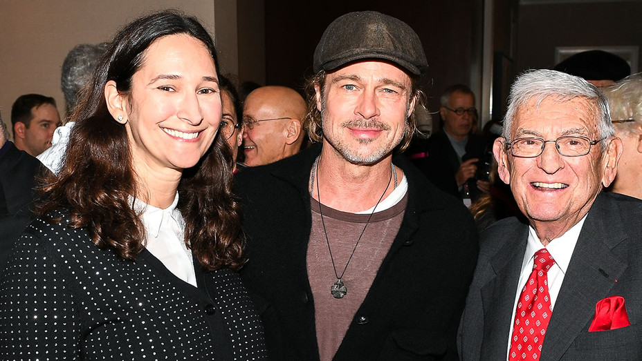 Frieze Los Angeles: Opening Preview Breakfast- Bettina Korek, Brad Pitt, Eli Broad - ONE TIME USE ONLY - Publicity -H 2019