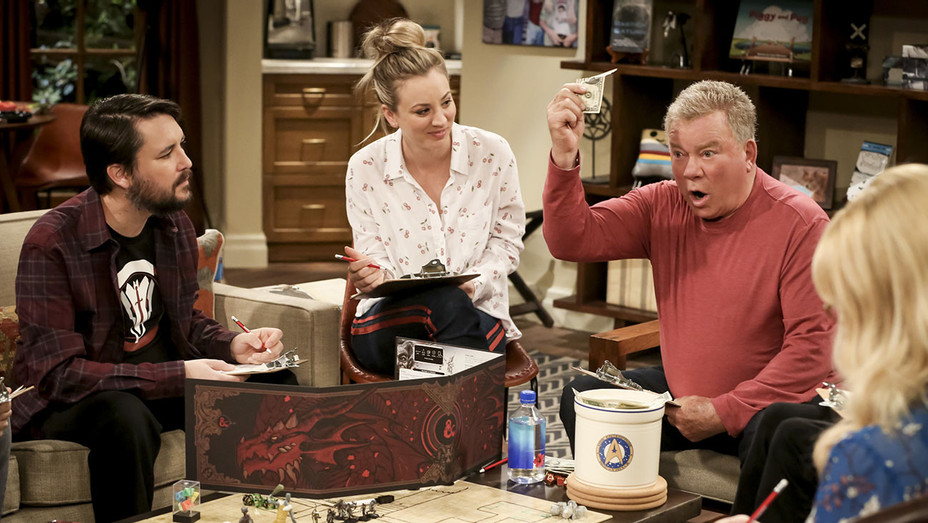 THE BIG BANG THEORY - The D & D Vortex -Wil Wheaton -Kaley Cuoco-William Shatner - Publicity-H 2019