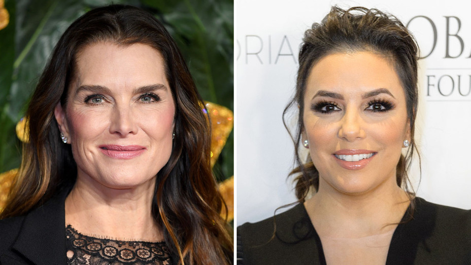 Brooke Shields - Eva Longoria-Getty-Split-H 2019