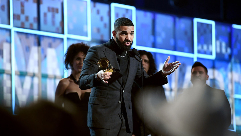 Drake_Grammys Onstage - Getty - H 2019
