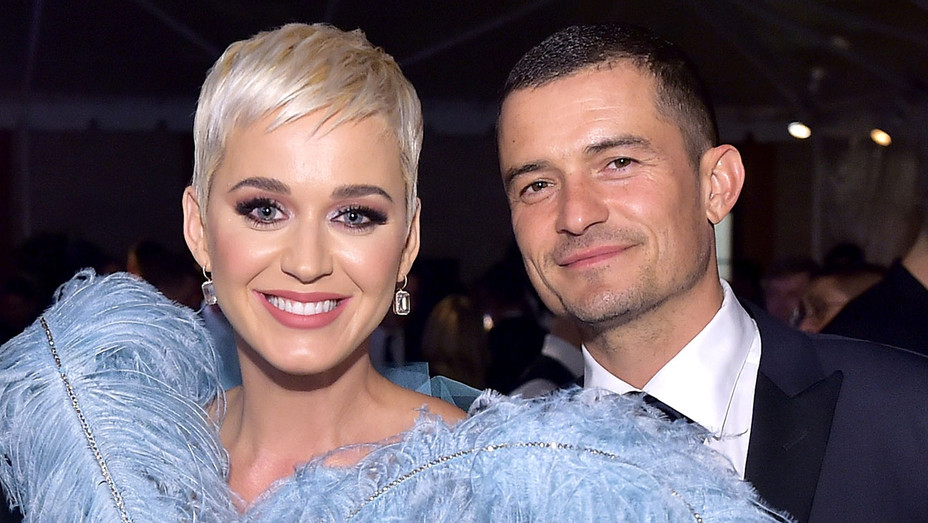 Katy Perry, and Orlando Bloom attend the amfAR Gala Los Angeles 2018 - Getty-H 2019