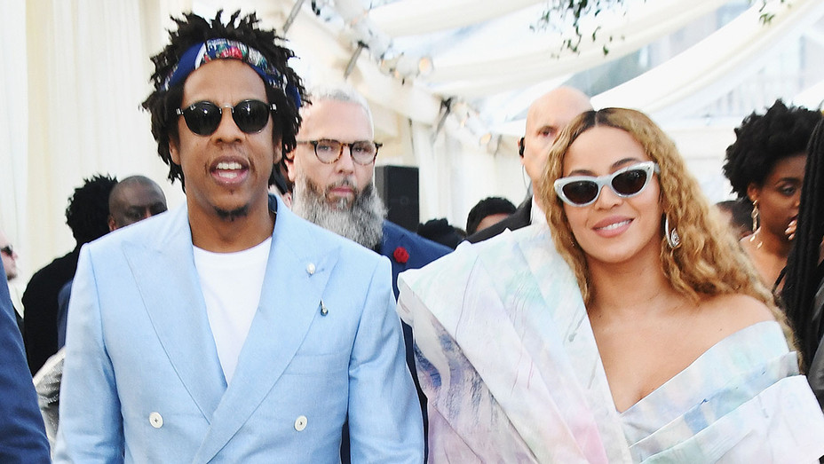 Jay-Z and Beyonce attend 2019 Roc Nation THE BRUNCH  - Getty-H 2019