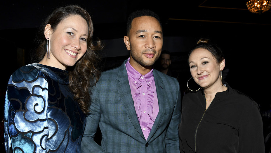 HBO's Documentary Film United Skates Party - Tina Brown, John Legend, and Dyana Winkler -Getty-H 2019