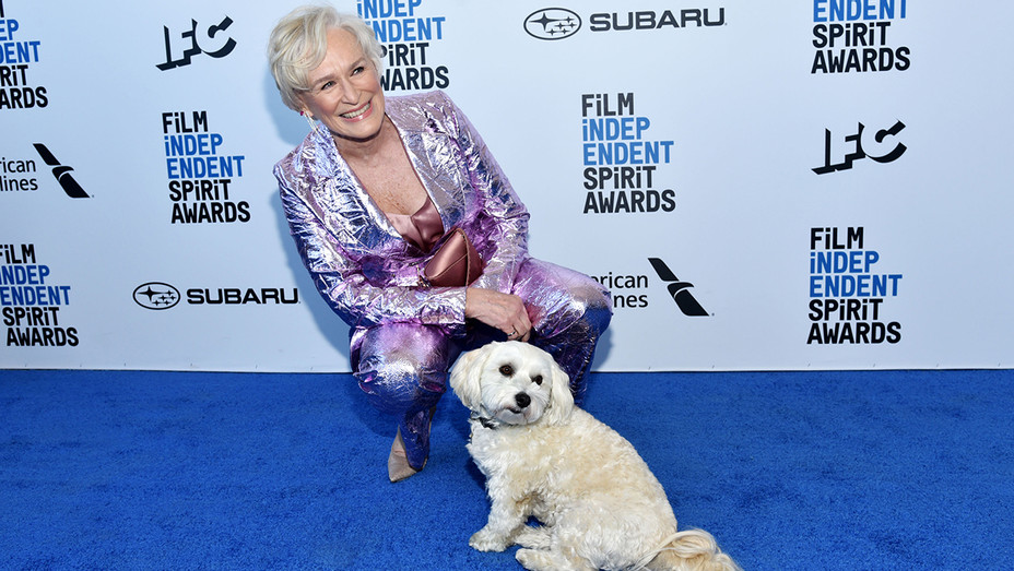 Glenn Close and Dog Film Independent Spirit Awards - Getty - H 2019