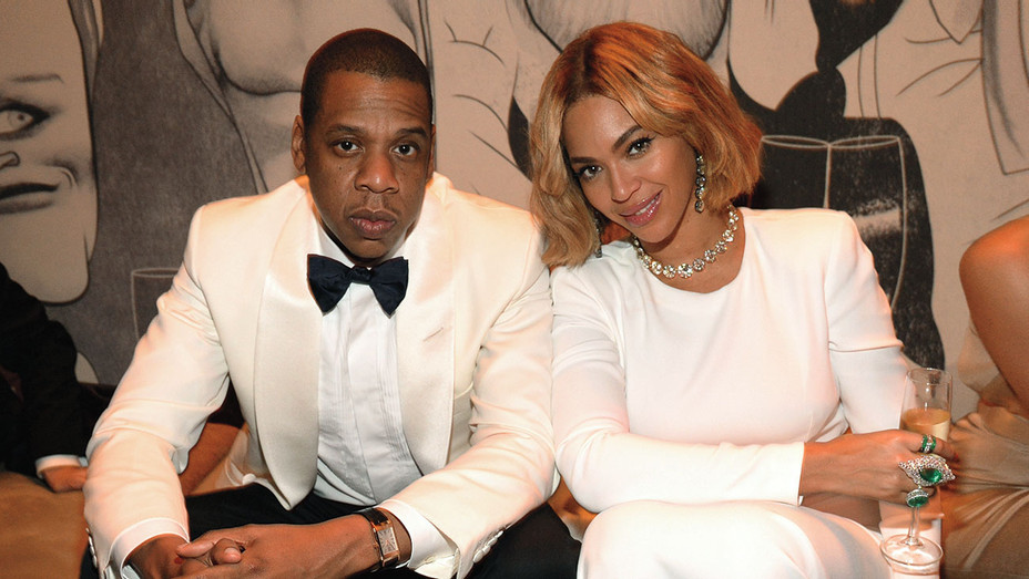 Jay Z and Beyonce attend the 2015 Vanity Fair Oscar Party  - Getty -H 2019