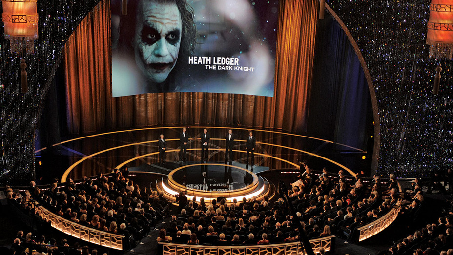 ONE TIME USE - 81st Academy Awards- Heath Ledger as the Joker in The Dark Knight - Getty- EMBED 2019