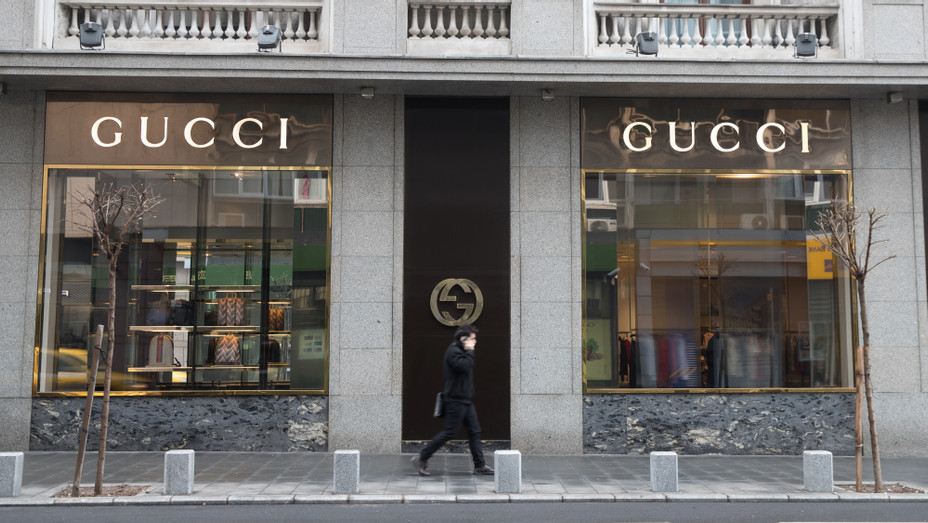 Gucci store in Bucharest, Romania from 2017 - H Getty 2019