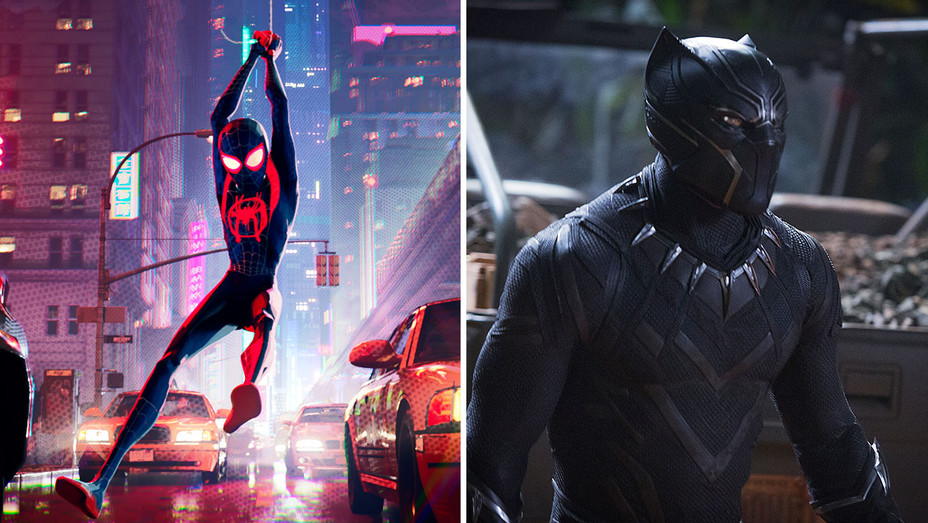 Into the Spider-Verse_Black Panther_Split - Publicity - H 2019
