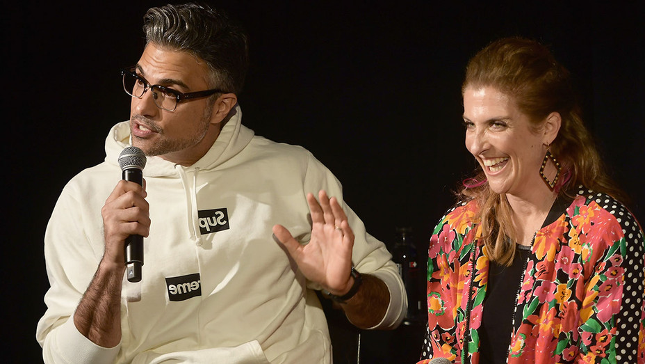 Jaime Camil and Jennie Snyder Urman - Getty - H 2019