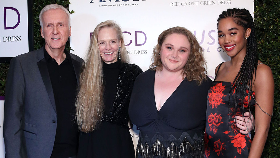 James Cameron Suzy Amis Cameron Danielle Macdonald and Laura Harrier attend Suzy Amis Cameron's 10-Year Anniversary Of RCGD Celebration - Getty - H 2019