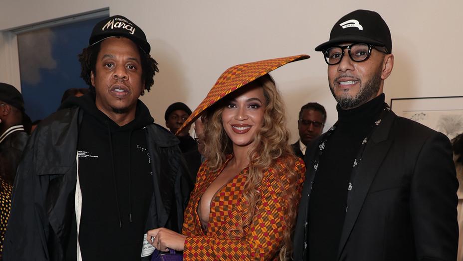 "Jay-Z, Beyoncé and Kasseem ""Swizz Beatz"" Dean - Publicity - H 2019"