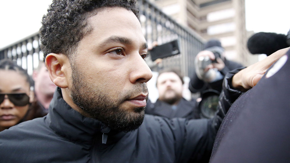 Jussie Smollett leaving court 2-Getty- H 2019