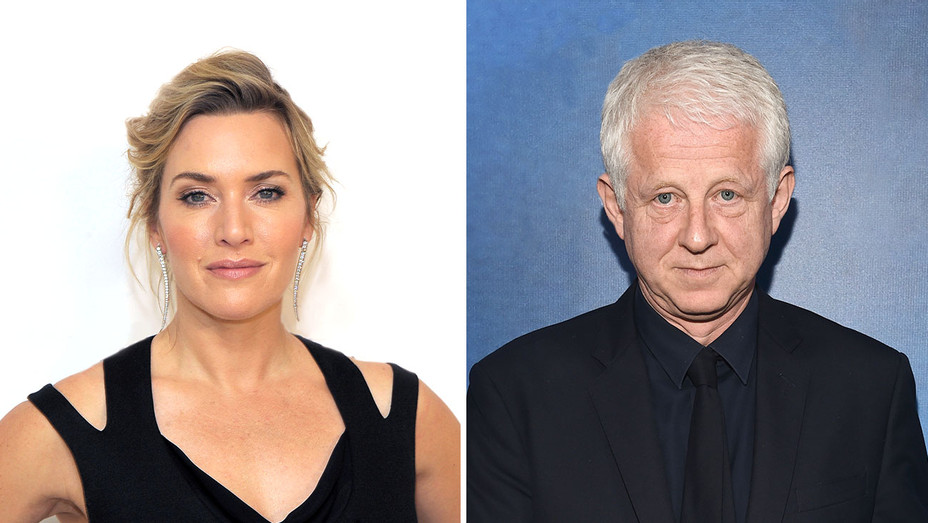 Kate Winslet_Richard Curtis_Split - Getty - H 2019