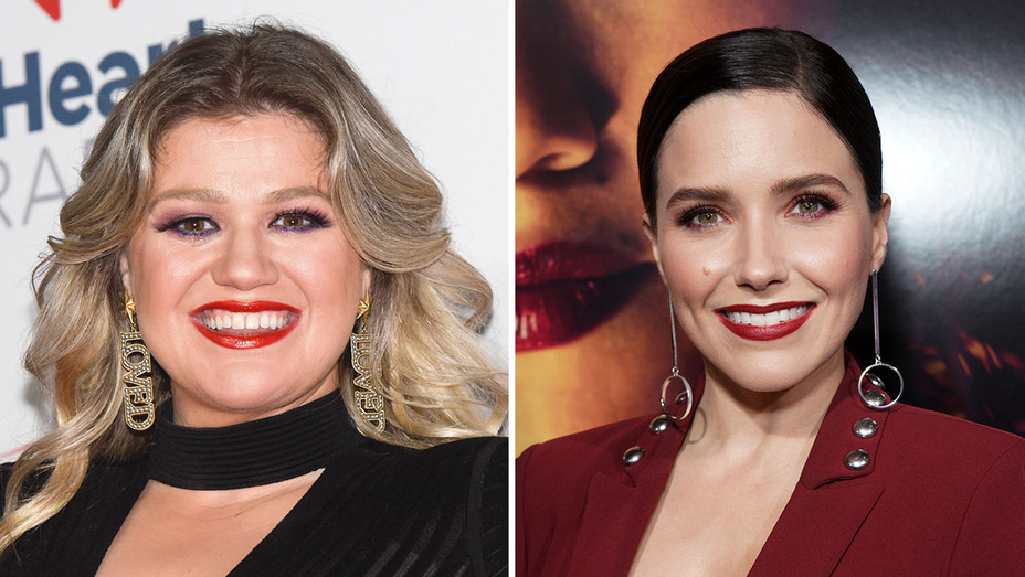 Kelly Clarkson and Sophia Bush_Split - Getty - H 2019