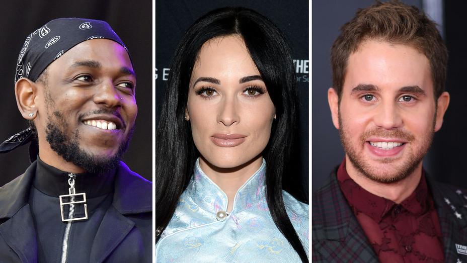 Kendrick Lamar- Kacey Musgraves - Ben Platt-Getty-Split-H 2019
