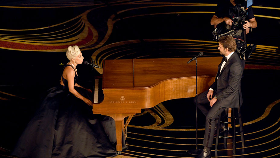 Lady Gaga and Bradley Cooper perform onstage during the 91st Annual Academy Awards - Getty - EMBED