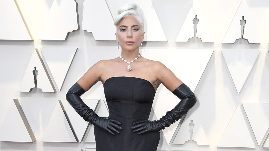 Lady Gaga attends the 91st Annual Academy Awards - Getty - H 2019