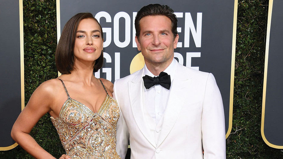 Irina Shayk and Bradley Cooper attends the 76th Annual Golden Globe Awards- Getty-P 2019