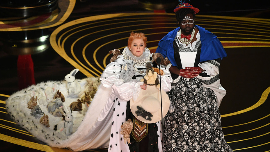 Melissa McCarthy and Brian Tyree Henry present at the 91st Annual Academy Awards - Getty - H 2019