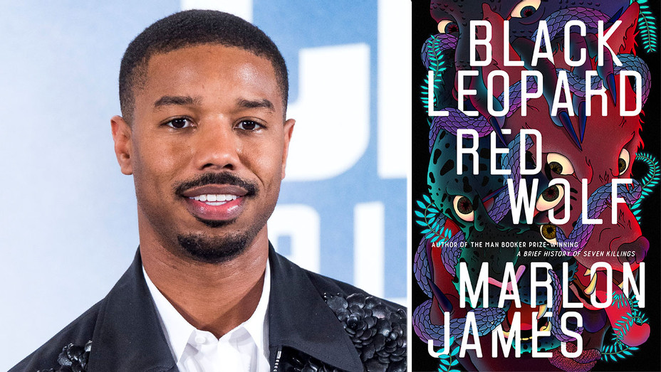 Michael B. Jordan-BLACK LEOPARD RED WOLF-getty-Publicity-Split-H 2019
