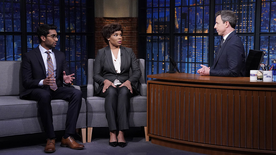 LATE NIGHT WITH SETH MEYERS - Episode 802 - Jermaine Affonso, Amber Ruffin - Publicity-H 2019