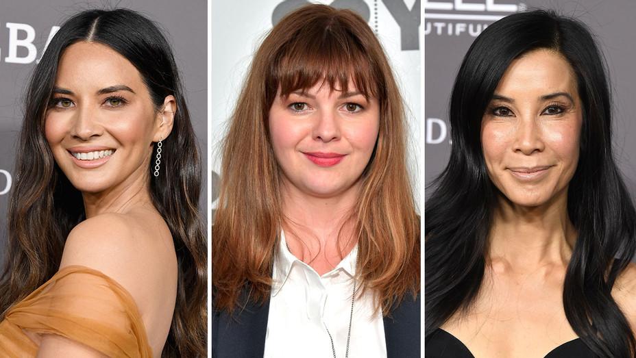 Olivia Munn, Amber Tamblyn and Lisa Ling-Split-Getty-H 2019